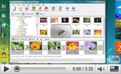 How to create flash slideshow with Alive Flash Slideshow Maker