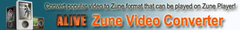 Zune Video Converter, Convert AVI to Zune,  MP4